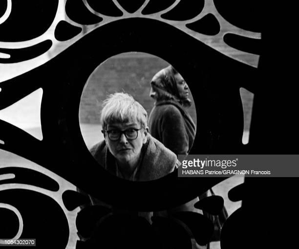 Londres Royaume Uni le 21 mars 1966 Diverses vues de la boutique BIBA créée par la modéliste Barbara Hulanicki et son mari Stephen FitzSimon à...