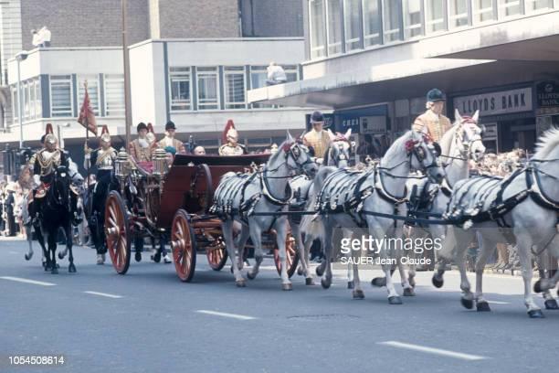 Londres RoyaumeUni 22 juin 1976 Visite officielle du président de la République française Valéry GISCARD D'ESTAING en Angleterre Valéry GISCARD...