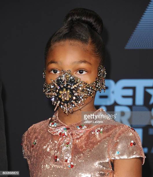 Londyn Wilburn attends the 2017 BET Awards at Microsoft Theater on June 25 2017 in Los Angeles California