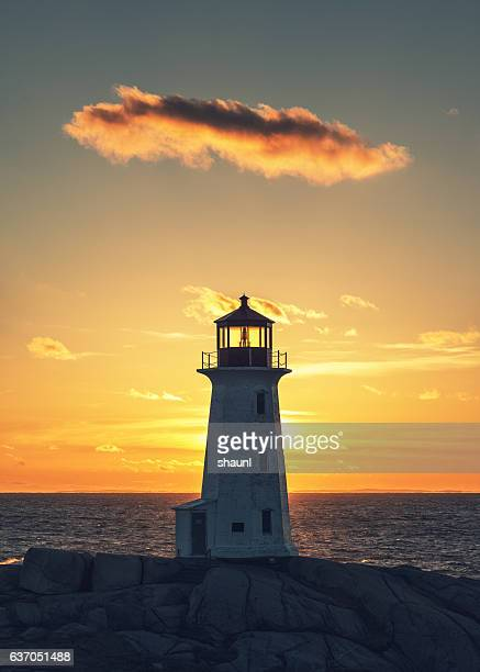 Lone Cloud Lighthouse