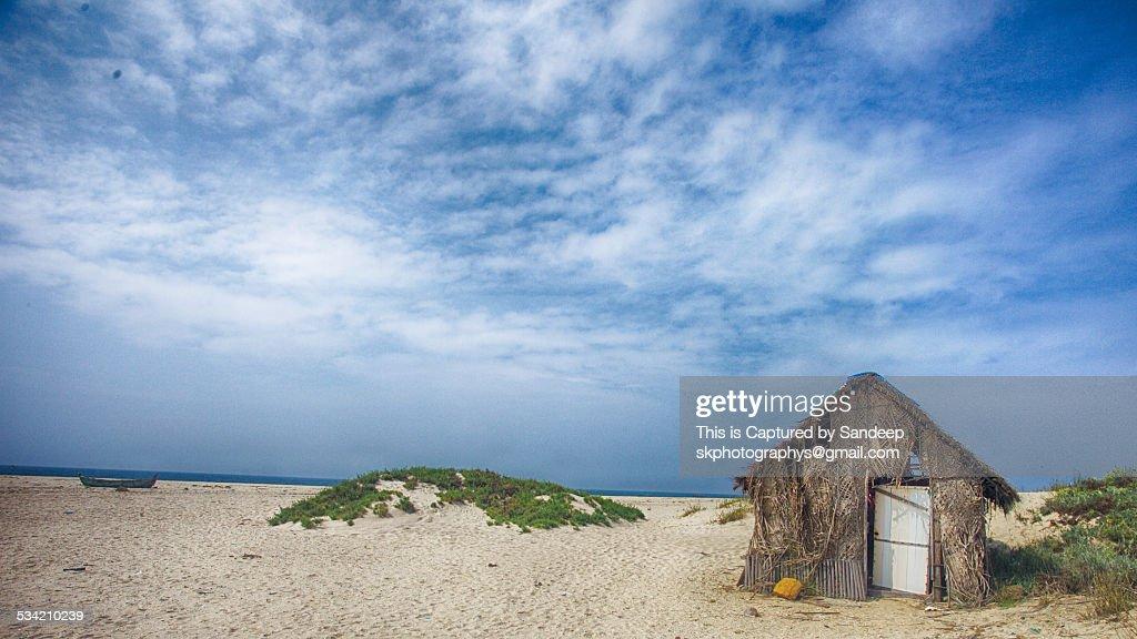 Lone Hut : Stock Photo