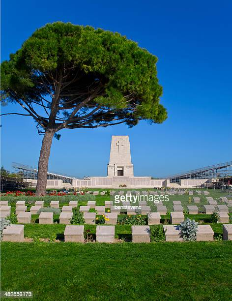 lone pine cemetary - gallipoli stock pictures, royalty-free photos & images