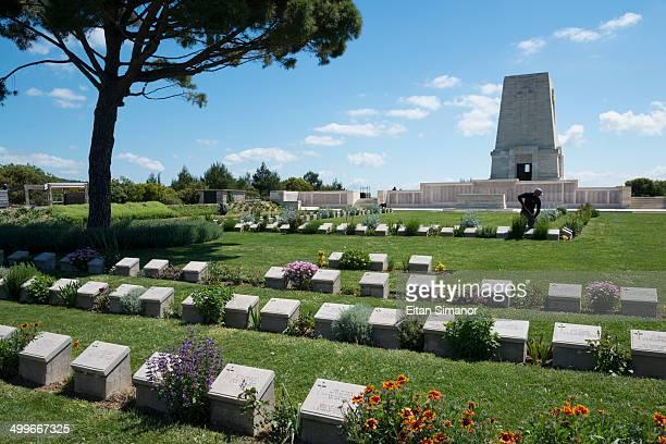 Lone Pine cemetery. Gallipoli peninsula. Turkey.