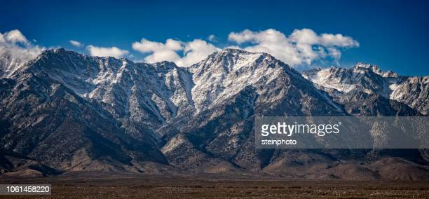 lone pine mountain range - lone pine california stock pictures, royalty-free photos & images