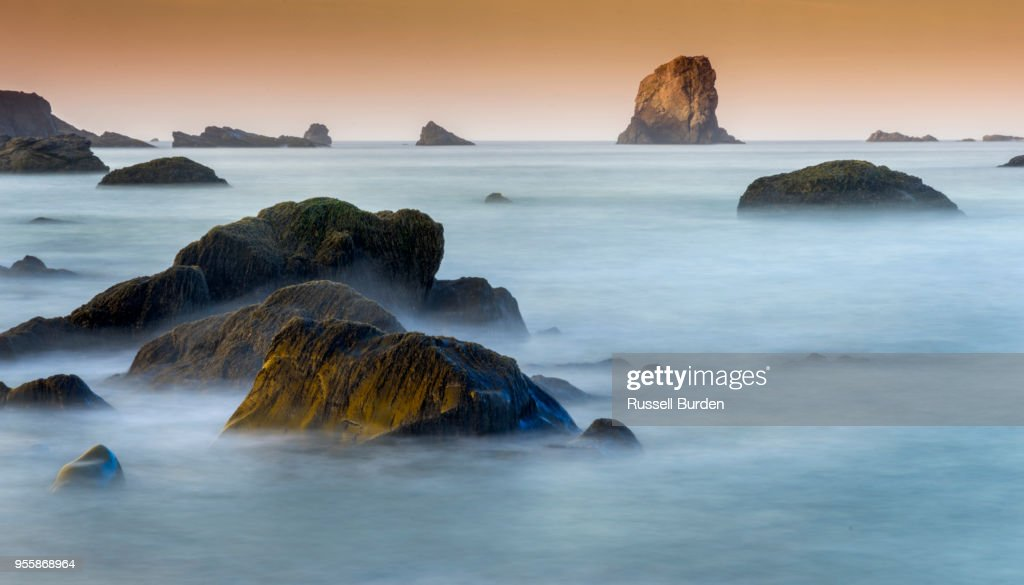Lone Ranch Beach Oregon Coast High Res