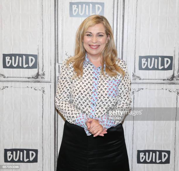 Lone Scherfig attends the Build Series at Build Studio on March 23 2017 in New York City