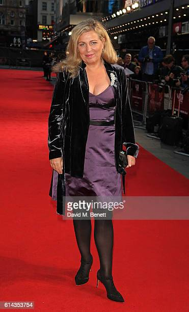 Lone Scherfig attends the Mayor's Centrepiece Gala screening of Their Finest during the 60th BFI London Film Festival at Odeon Leicester Square on...