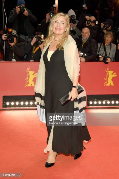 Lone Scherfig attends the The Kindness Of Strangers premiere during the 69th Berlinale International Film Festival Berlin at Berlinale Palace on...