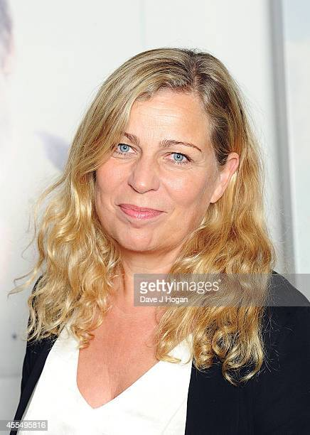 Lone Scherfig Director of The Riot Club attends a photocall for the film 'The Riot Club' at The BFI Southbank London on September 15 2014 in London...