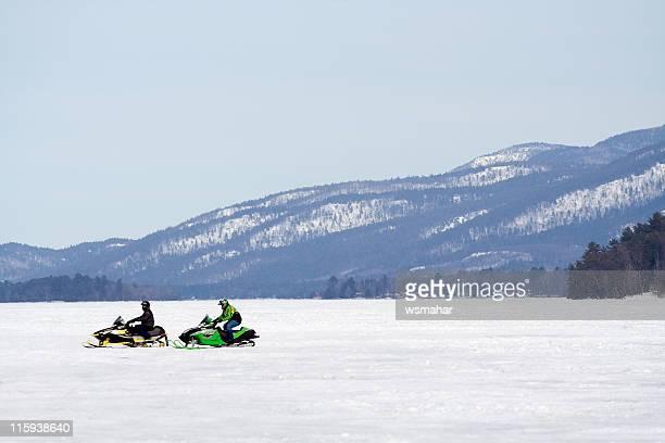 Lone Snowmobiles