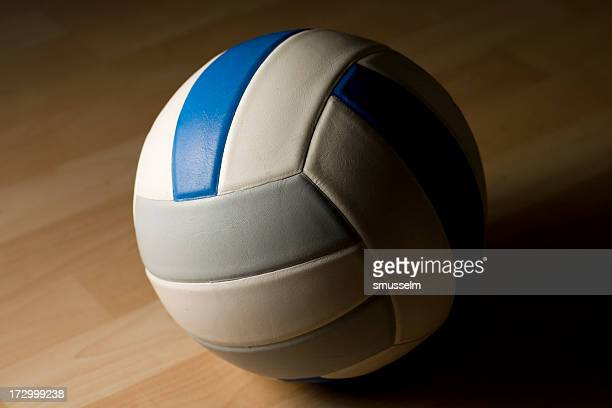 lone volleyball - high school volleyball stock photos and pictures