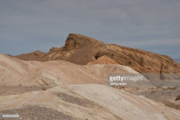 Lone Hiker Near Zabriskie Point