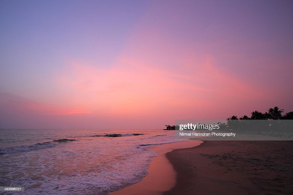 Lonely beaches of Cochin : Stock Photo