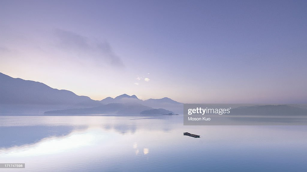 Lonely Boat : Stock Photo