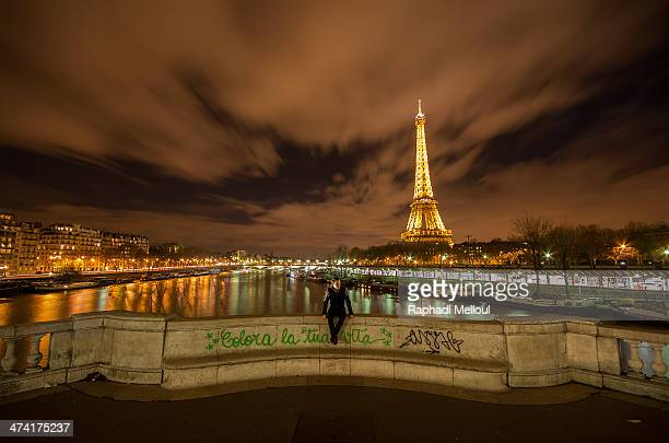 CONTENT] Lonely boy View of the Eiffel Tower from Grenelle Bridge Paris