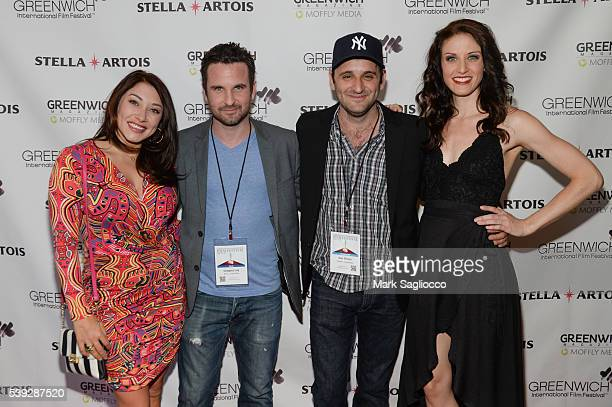 'Lonely Boys' Actors Alexandra Vino Gregory Lay Director Dan Simon and Actress Michelle Vezilj attend the 2016 Greenwich International Film Festival...