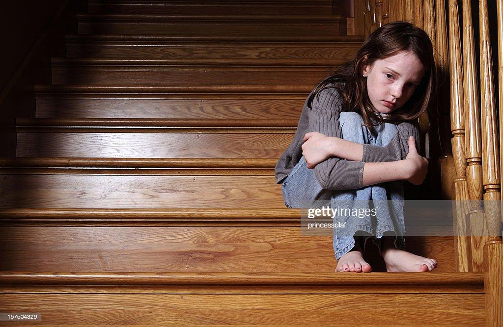 Lonely Child : Stock Photo