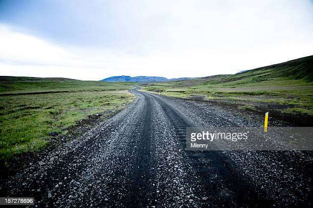 lonely country road - mlenny stock pictures, royalty-free photos & images