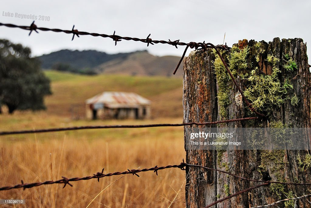 Lonely farm house : Stock Photo