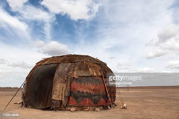 Lonely Gabbra home in the Chalbi Desert