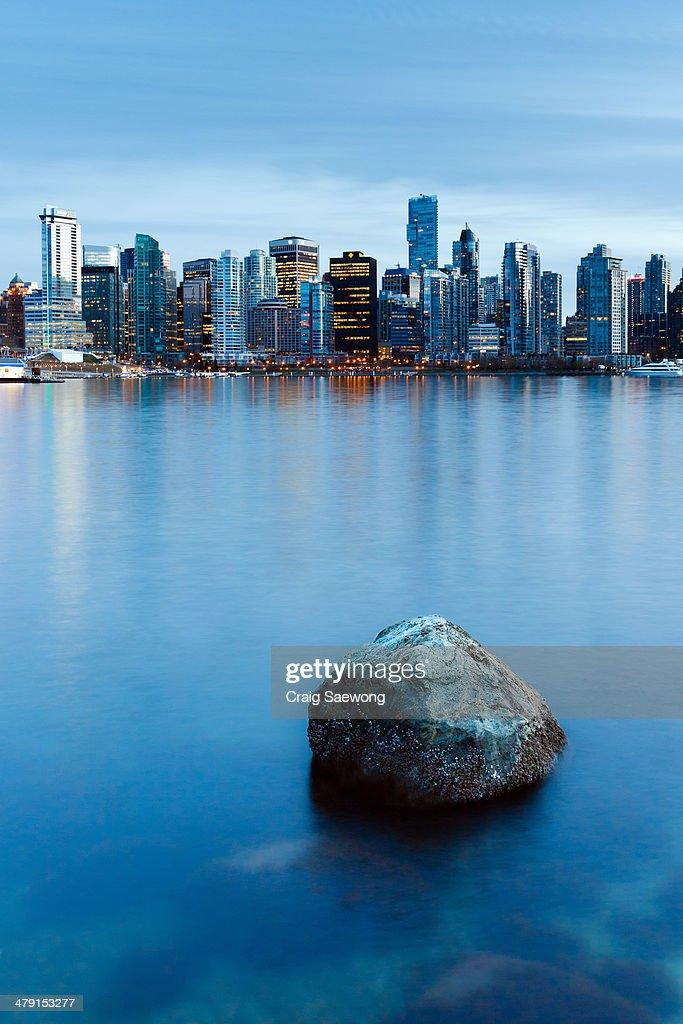 Lonely Rock : Stock Photo