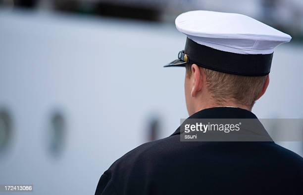 lonely sailor - navy stock pictures, royalty-free photos & images