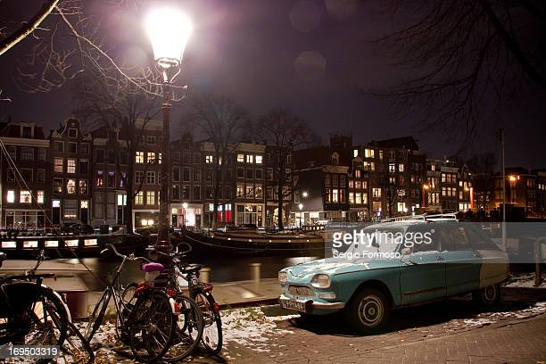 CONTENT] Lonely street in Amsterdam