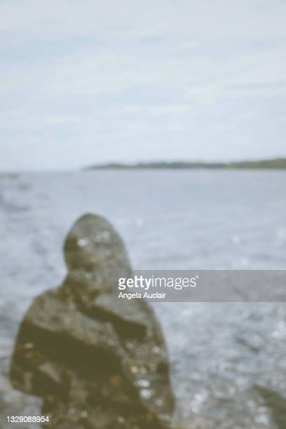 lonely teen boy double exposure - angela auclair stock pictures, royalty-free photos & images