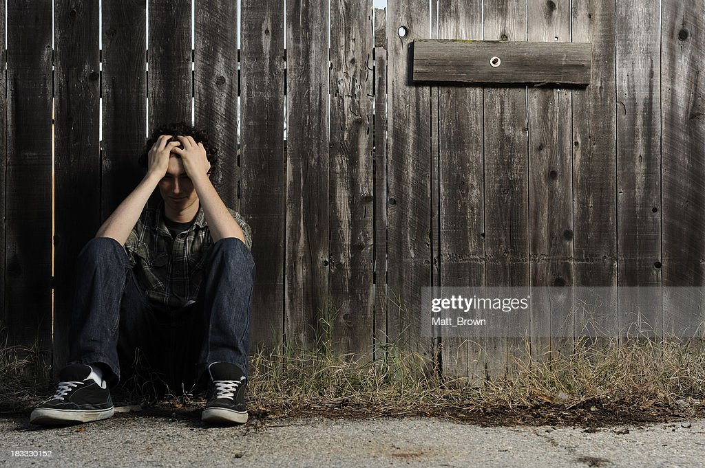 Lonely Teen : Stock Photo