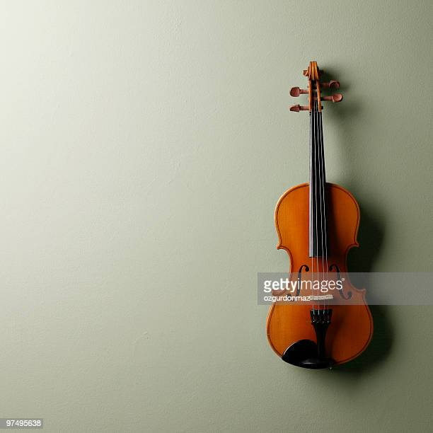 Lonely violin