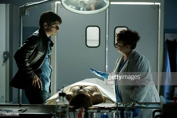 GRIMM Lonelyhearts Episode 105 Pictured David Giuntoli as Nick Burkhardt Sharon Sachs as Dr Harper