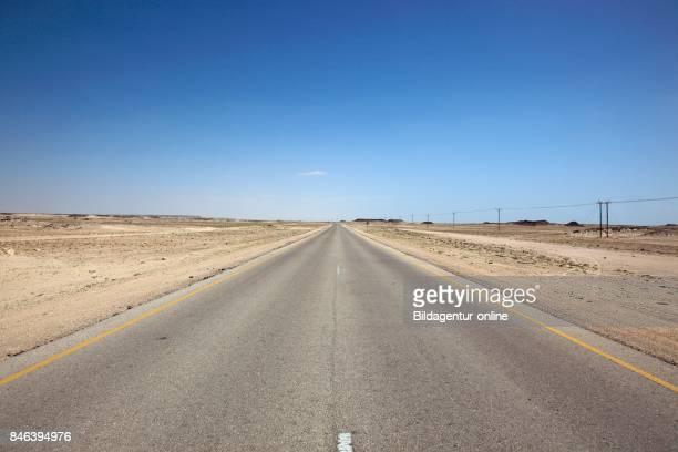 Lonesome Street For The 'empty Quarter' Arrub Alkhali Oman