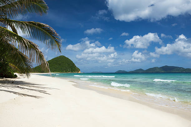 """Long Bay and Belmont Point in Tortola, British Virgin Islands"""