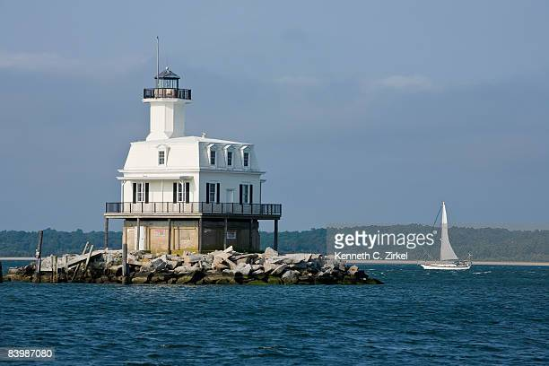 Long Beach Bar  (Bug Light) Lighthouse