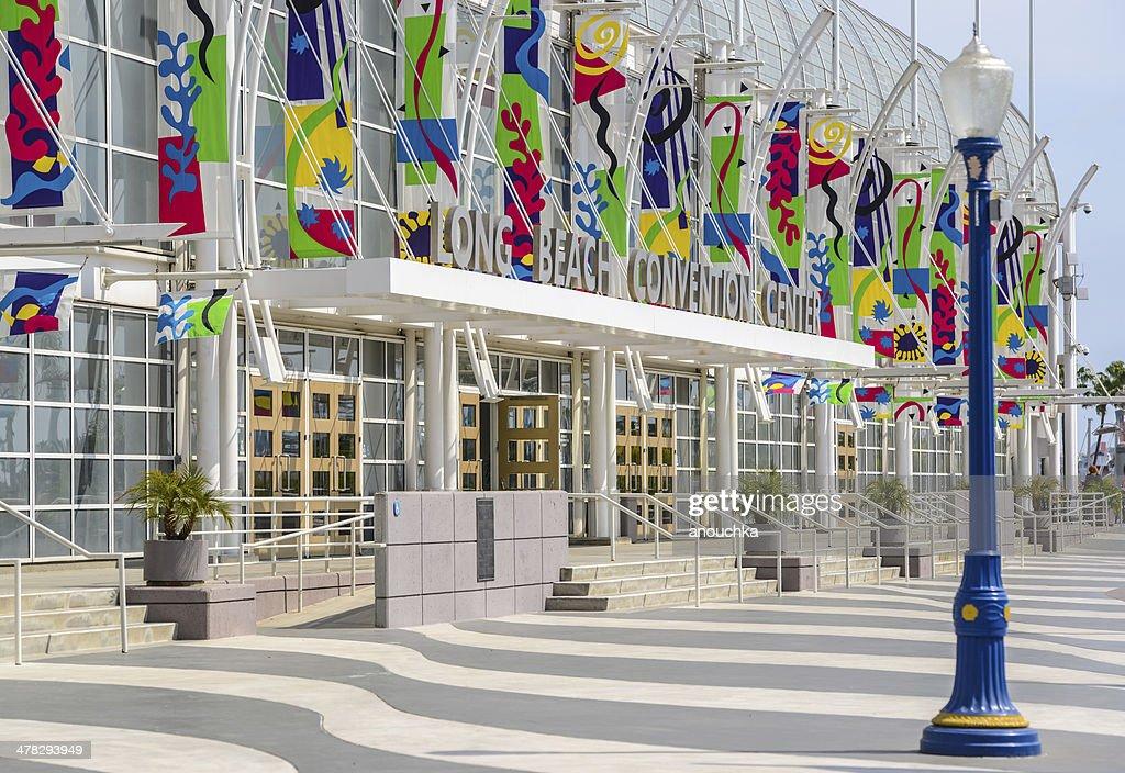 Long Beach Convention Center California Usa Stock Photo