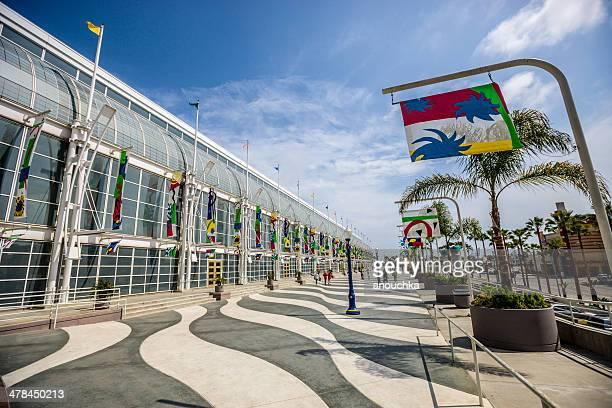 long beach convention center, california, usa - long beach california stock pictures, royalty-free photos & images