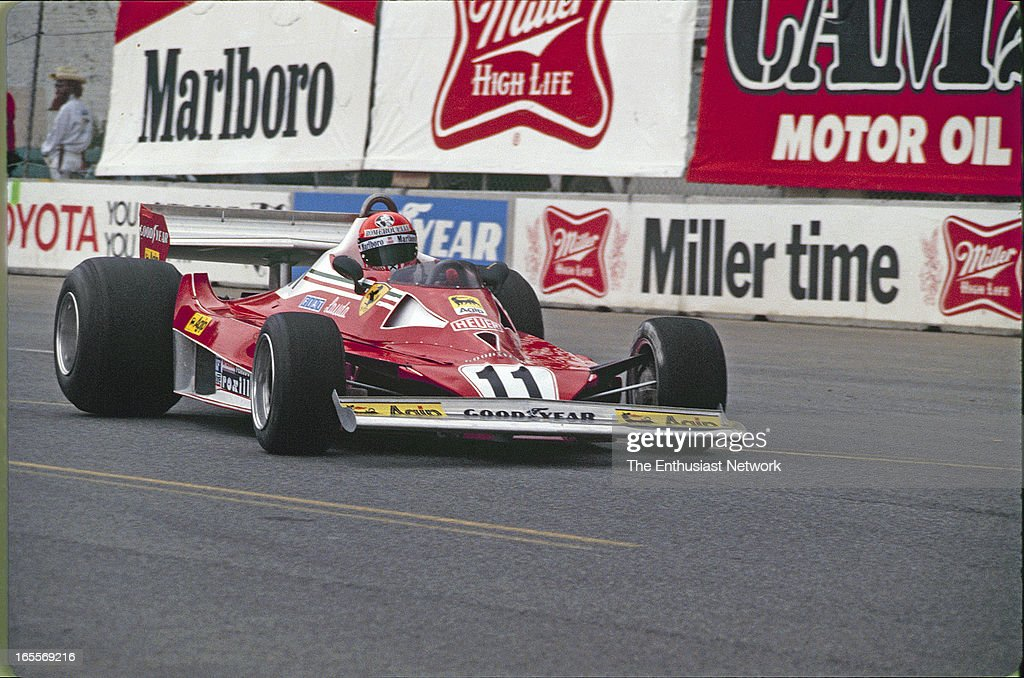1977 Long Beach Grand Prix : News Photo