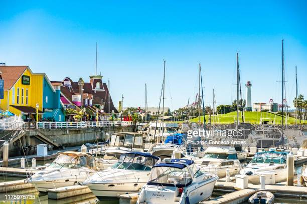 long beach harbor - long beach california stock pictures, royalty-free photos & images