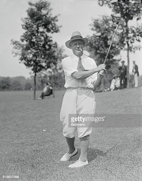 Long Beach L I New York Photo shows Alex Smith of Westchester Biltmore Country Club who played a round