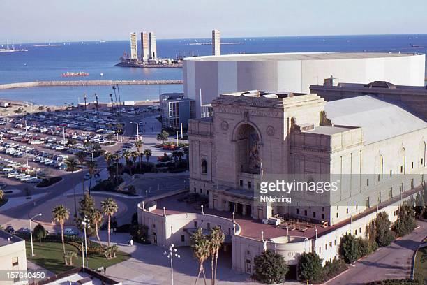 long beach municipal auditorium 1967, retro - long beach california stock pictures, royalty-free photos & images