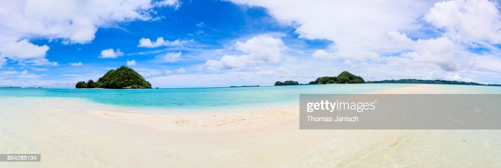 Long Beach, Palau : Stock Photo
