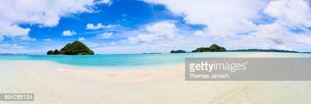 long beach, palau - wide shot stock pictures, royalty-free photos & images