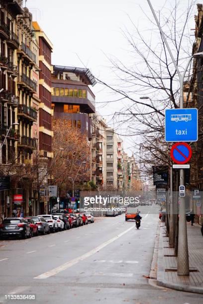 Long Carrer de Balmes, Barcelona, Spain