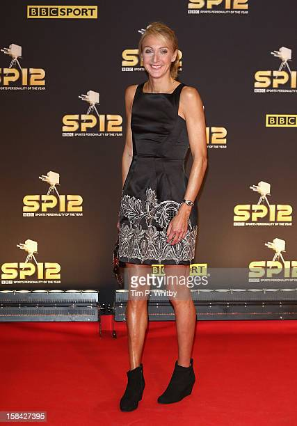 Long distance runner Paula Radcliffe attends the BBC Sports Personality of the Year Awards at ExCeL on December 16 2012 in London England