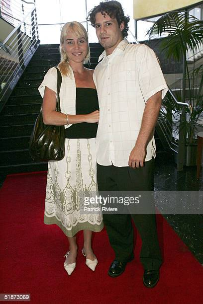 Long distance swimmer Susie Maroney and boyfriend Robert Daniels attend the opening night of Edgley International's 'Drumstruck' at the Showroom...