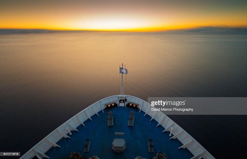 Long exposure Antarctica : Stock Photo