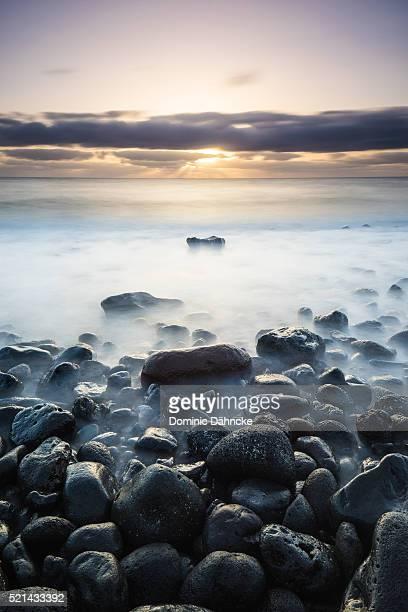 long exposure at coast - dähncke fotografías e imágenes de stock