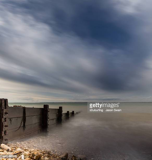 long exposure blues - s0ulsurfing stock pictures, royalty-free photos & images
