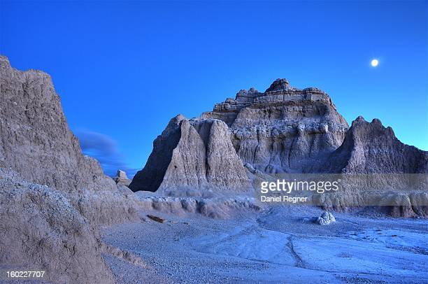 CONTENT] A long exposure night shot of the moon over the South Dakota Badlands Unreal looking environment it looks as if it could be somewhere on the...