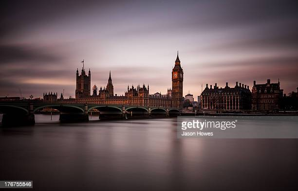 CONTENT] Long exposure of Big Ben and The Houses of Parliament Westminster London